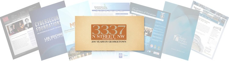 Featured 2014 Project: 3337 N St NW 200 years in Georgetown Table Top Book