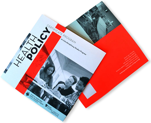 Health Policy Brochure  Company brochure, marketing strategy