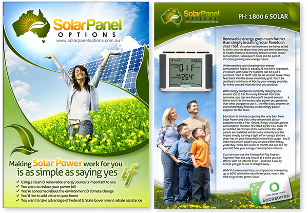 Solar Options  Company brochure and corporate brand strategy