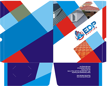EDP Marketing Folder Company sales and marketing folder