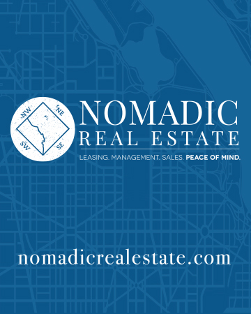 Nomadic Real Estate Signs  Exterior signs, branding materials