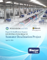 Sacyr Desalination plant brochure