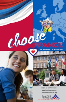 Campus France  Brochure, poster and marketing materials