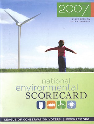 Congress League of Conservation Voters - Environmental Scorecard Brochure