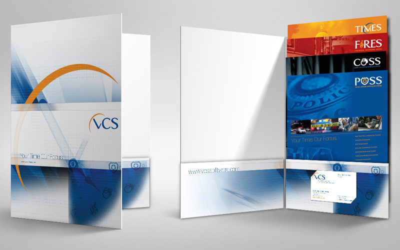 VCS Sales and Marketing Folder, Printing