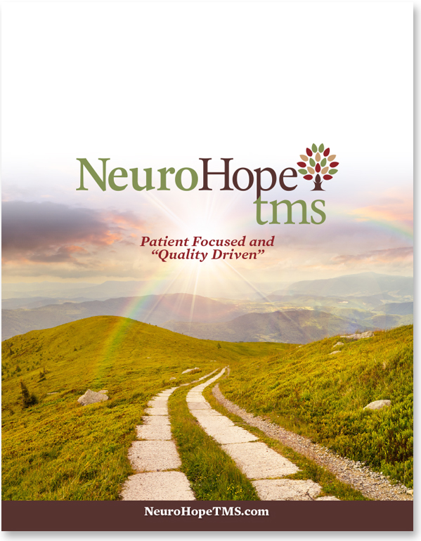 NeuroHopeTMS Folder, Marketing Brochures
