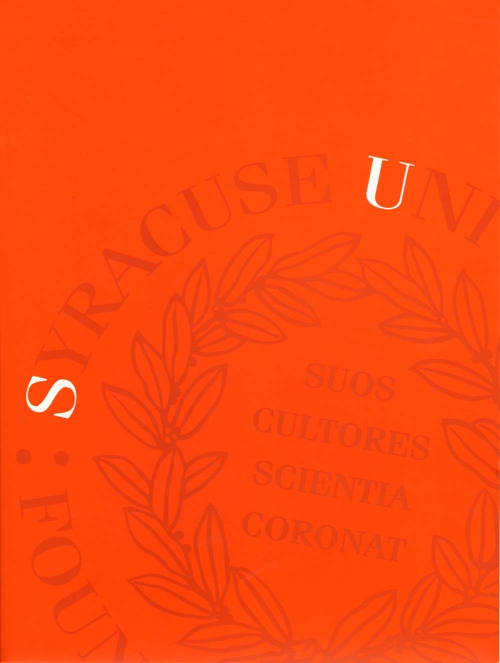 Syracuse University Pocket Folder