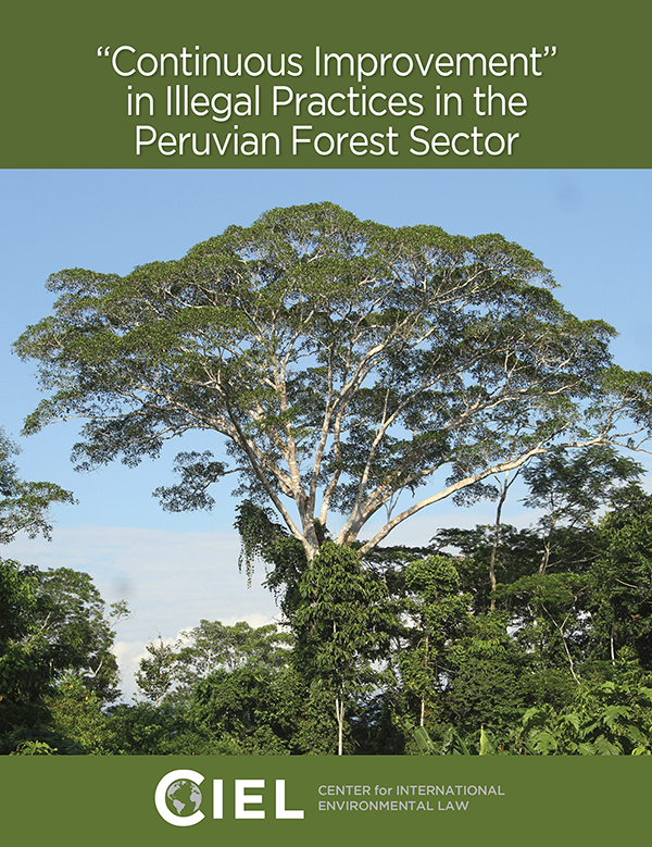CIEL (Center for International Environmental Law) Book on Peruvian Forests
