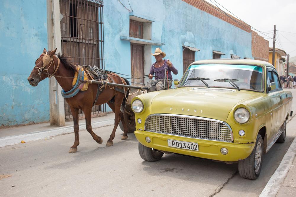 Streets of Trinidad, Cuba.
