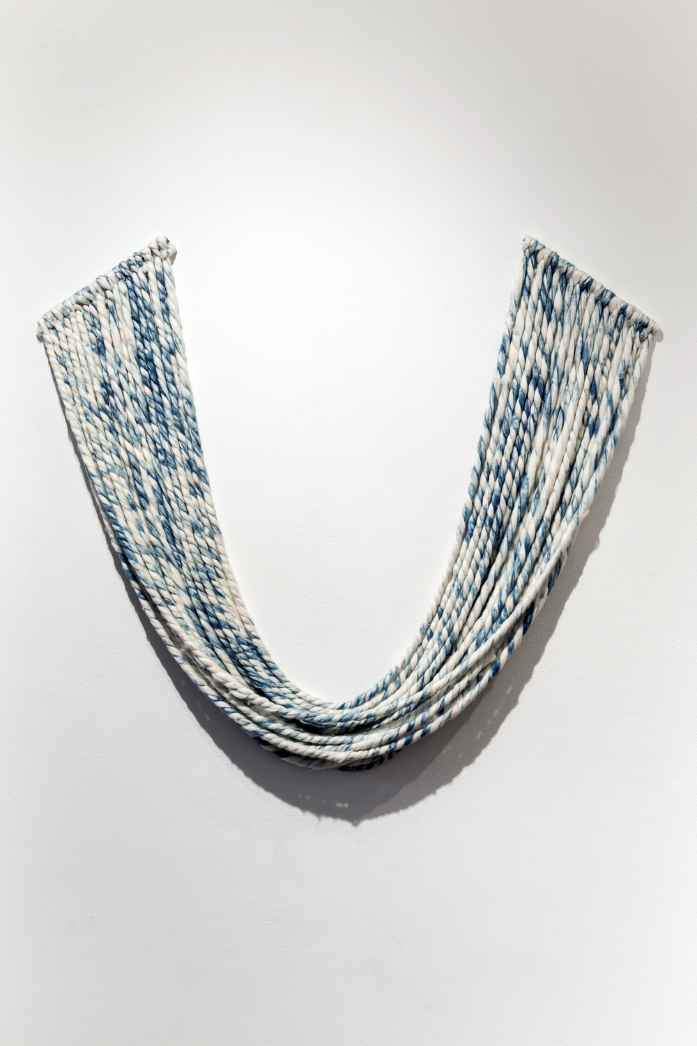Indigo Cotton Roving, 2014