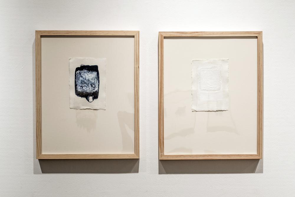 Plain-Weave Impression I & II, 2014