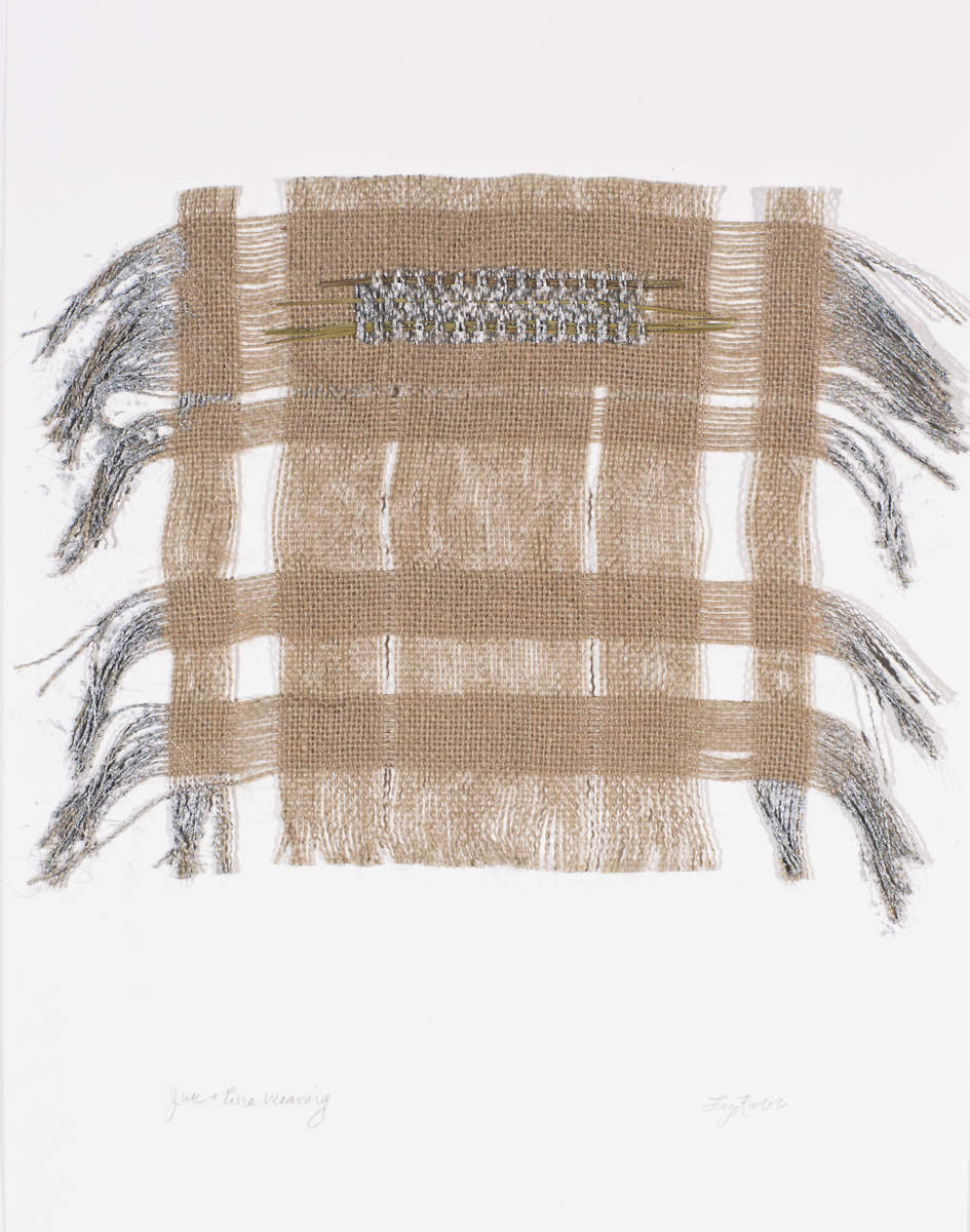 Jute & Metallic Pine Weaving, 2013