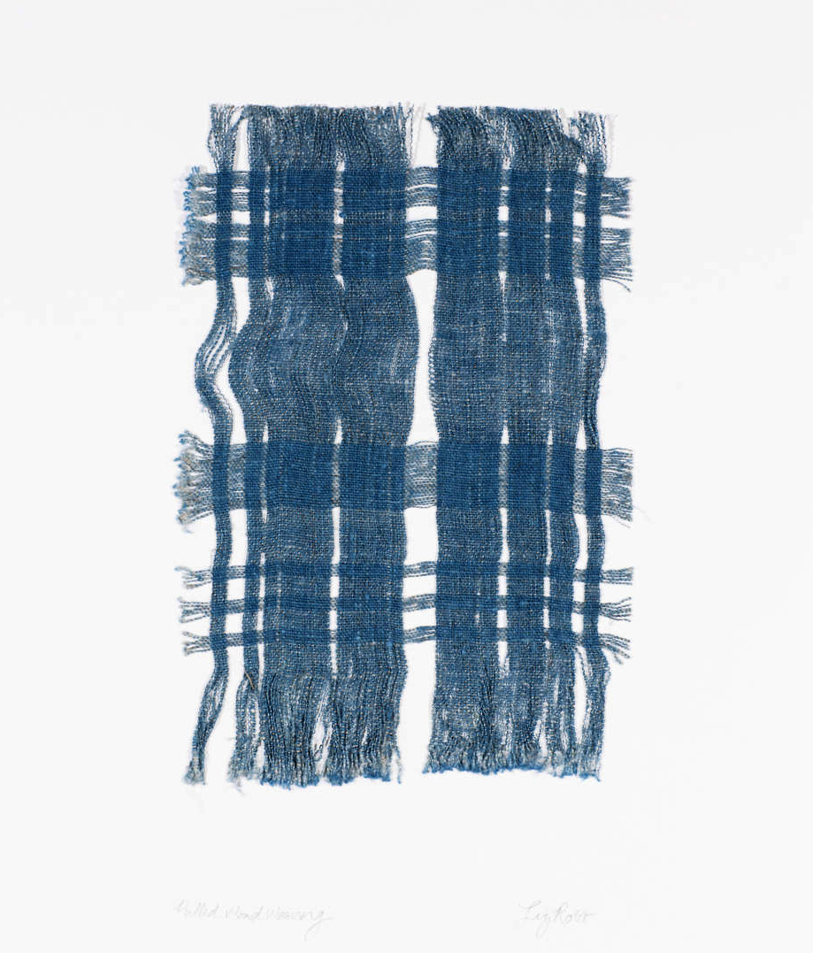 Pulled Woad Weaving I, 2013