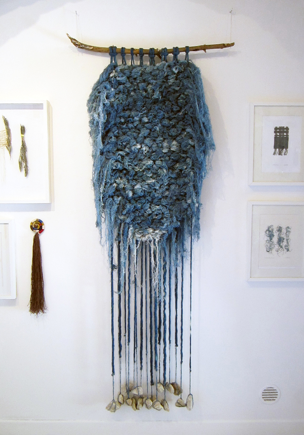 Woad Thread Weaving, 2013