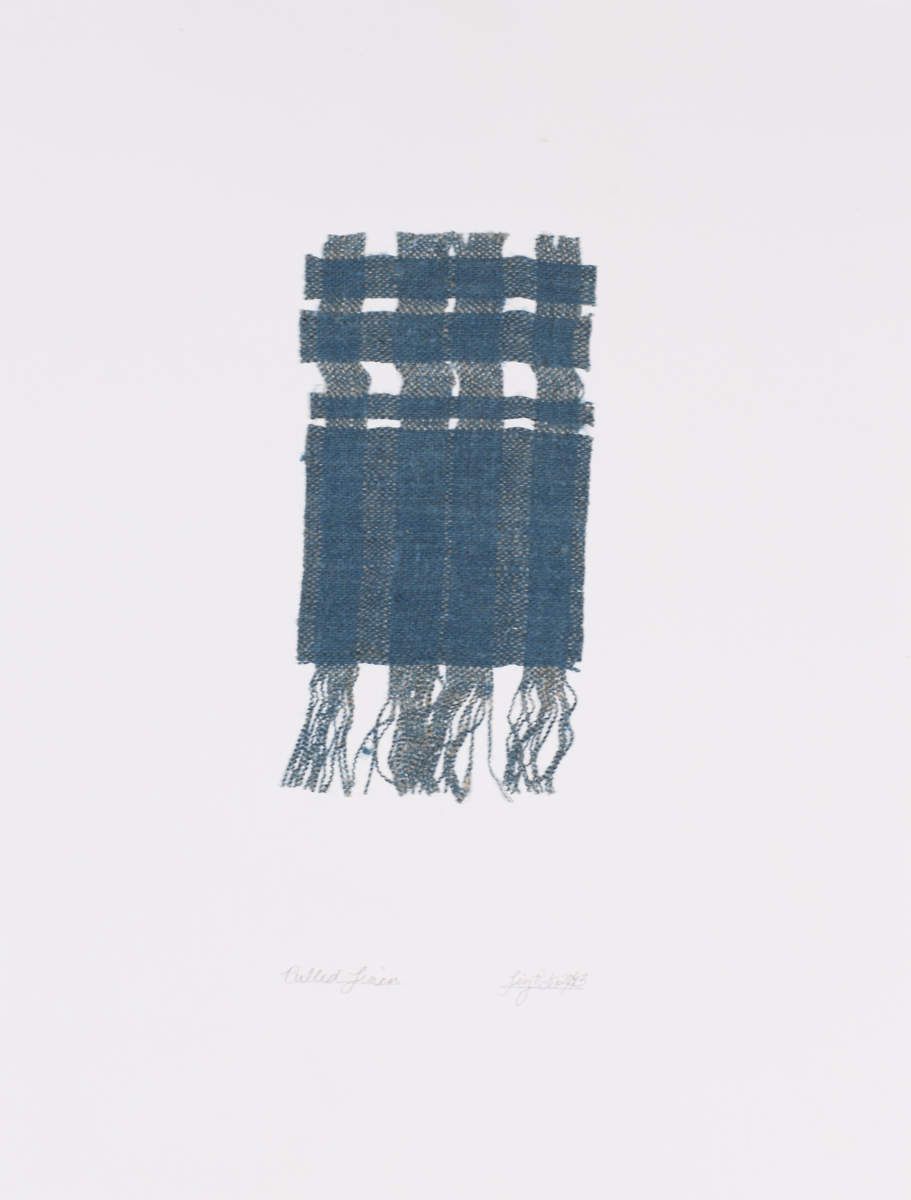 Pulled Woad Weaving II, 2013
