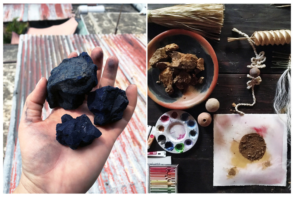 Indigo & Natural Dye Samples      , 2017