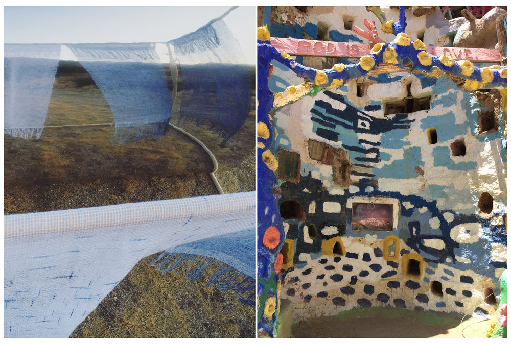 Exposed Framework, Morning & Evening  , 2016    Salvation Mountain  , 2016