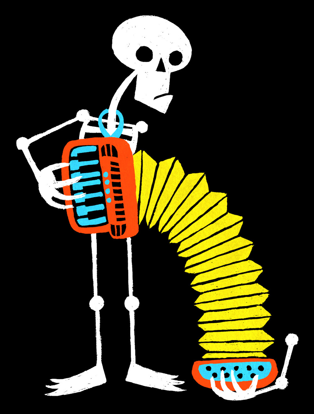 Skeleton with an Accordion