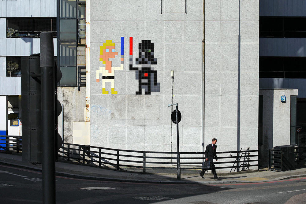 London Mosaic Installation