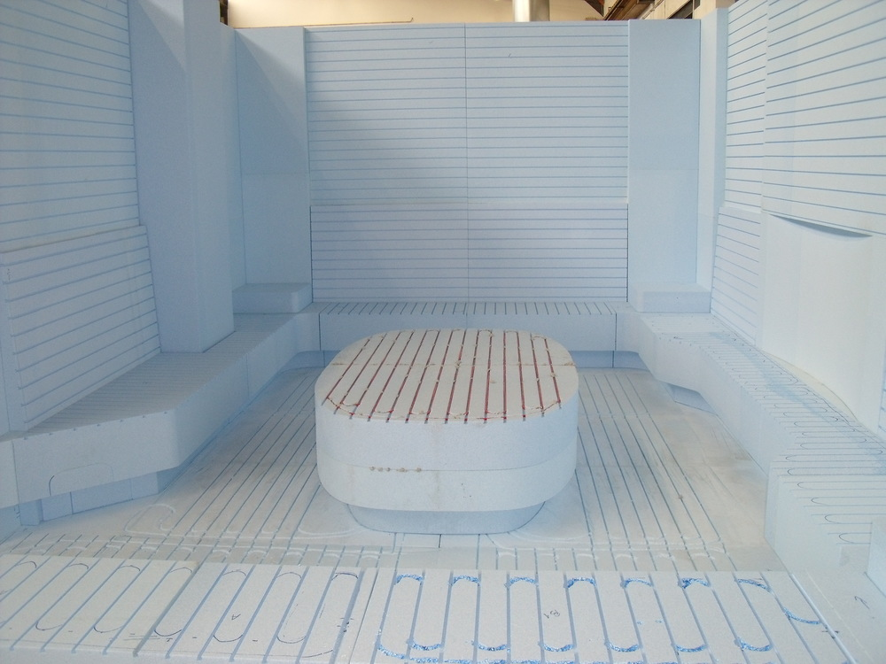 Bagno turco prefabbricato Preformati Italia //Preformati Italia prefab turkish bath