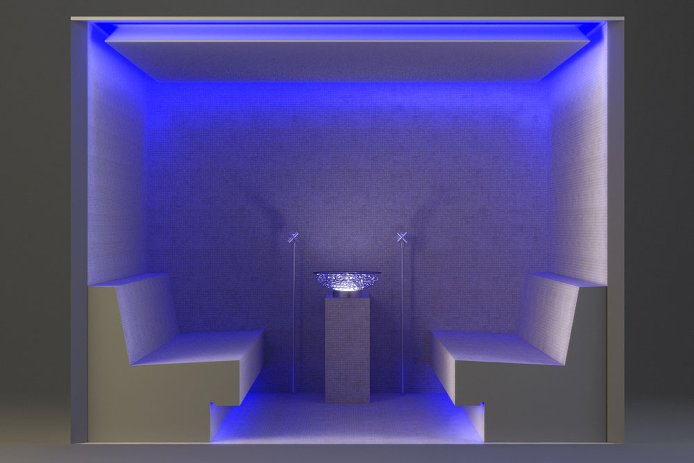 Bagno turco prefabbricato by Preformati Italia //Prefab Modular Turkish Bath