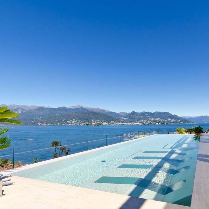 Piscina in polistirene espanso - polistirolo -Preformati Italia sul Lago Maggiore