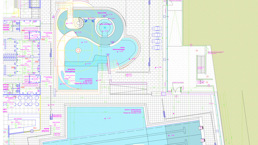 Strutture in EPS per la costruzione di centri benessere e piscine