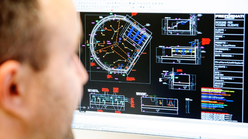 strutture in EPS per  centri benessere, bagni turchi, piscine, ingegnerizzate dallo staff di Preformati Italia