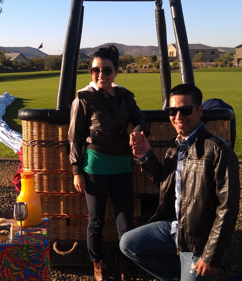 A private hot air balloon ride is the perfect way to propose, celebrate an anniversary, or special occasion.
