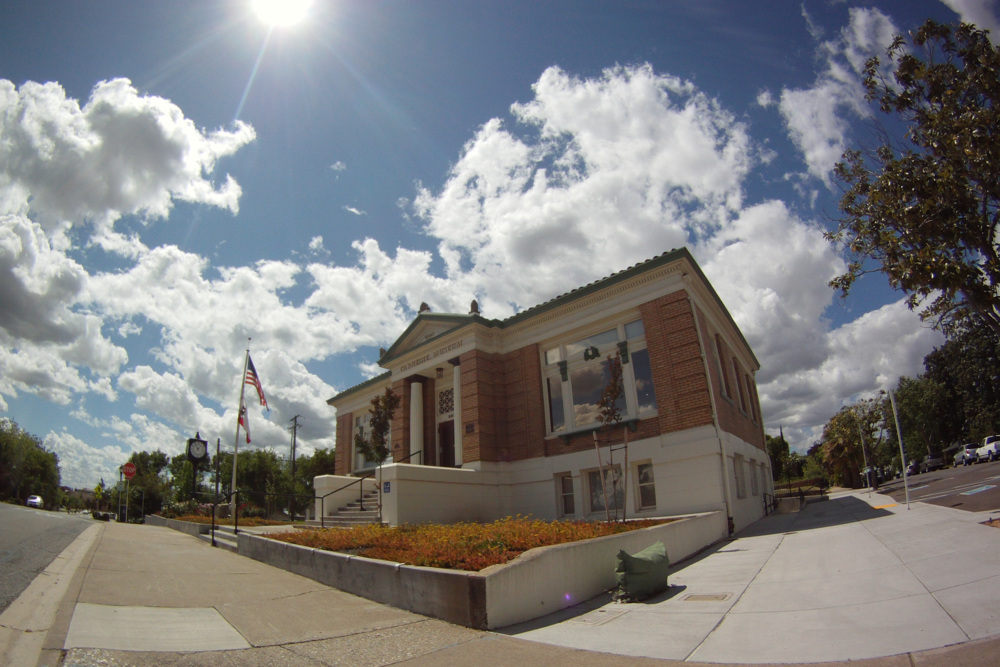 Our Carnegie Library Museum is 105 years old now.