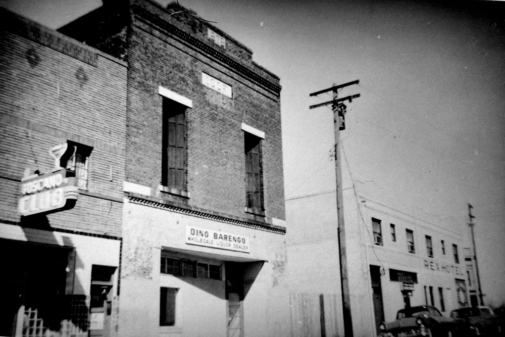 Odd Fellows building in 1961.