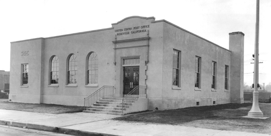 Roseville Post Office circa 1935.