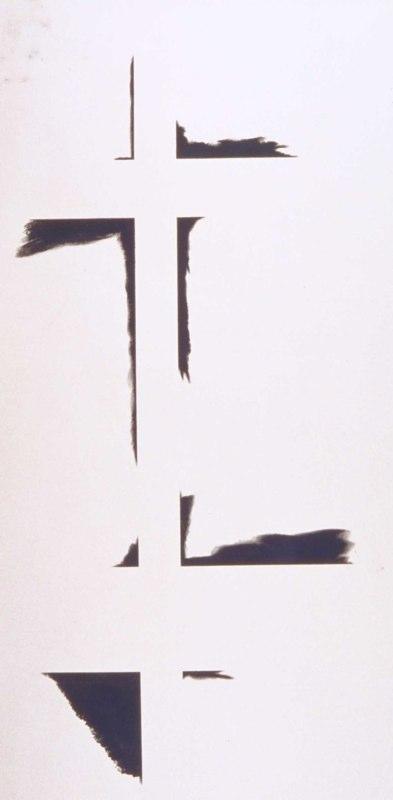Ivory Black (II), 1979, AC, 60x35.5.jpg