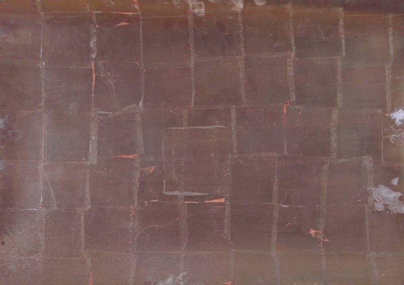 Untitled, 1981, copper leaf on paper, 22x30.jpg