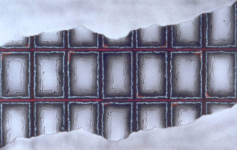 Collage-I, c. 1988-89, mixed media, 48x72.jpg