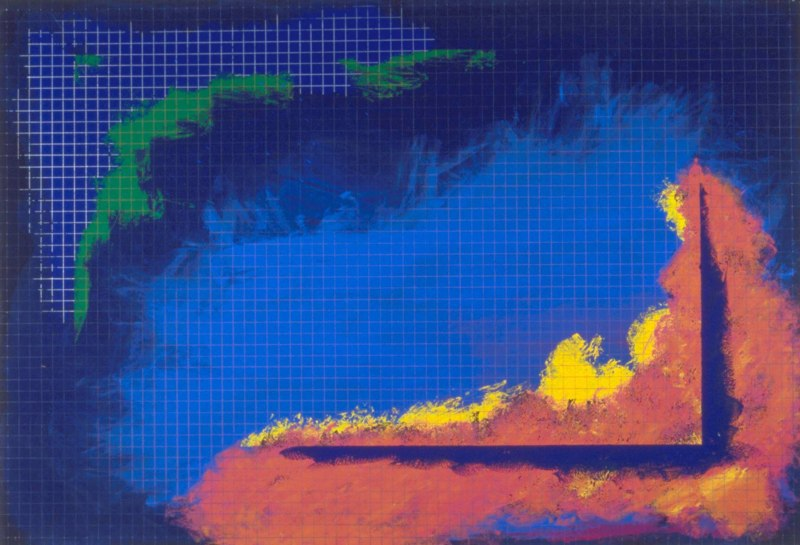 X, c. 1991, ACP, 48x78.jpg