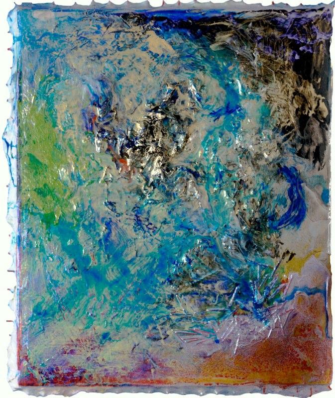 """Untitled, 37.5"""" x 32.5"""", April 2009"""