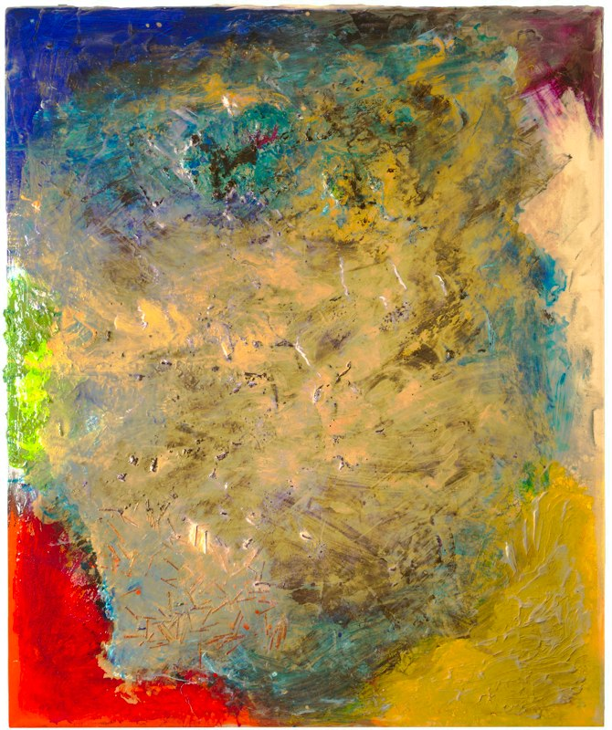 "Untitled, 48"" x 52"", October 2009"