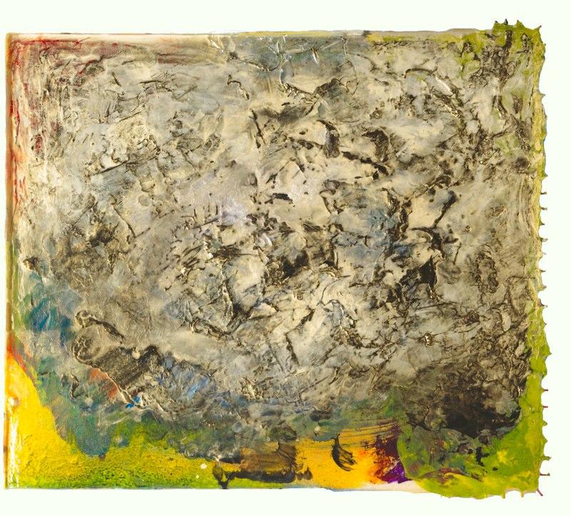 """Untitled, 48"""" x 48"""", April 2008"""
