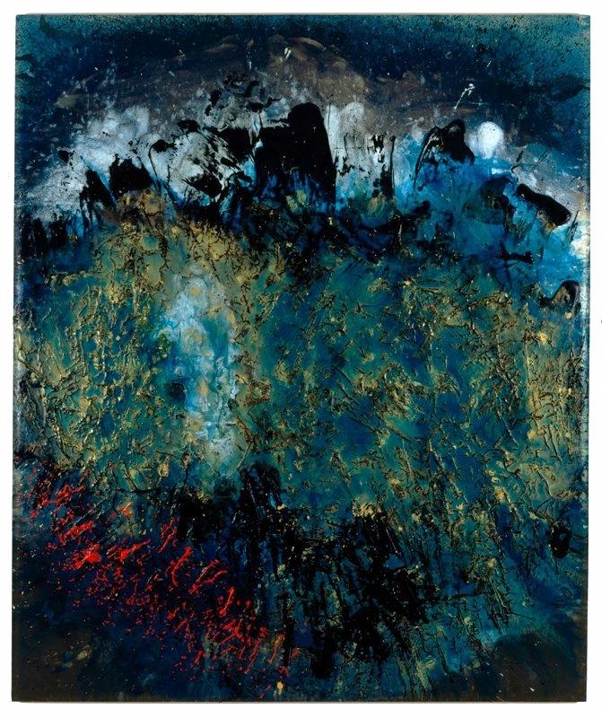 """Celestial Series, Inner Space, 48"""" x 60"""", June 2005"""