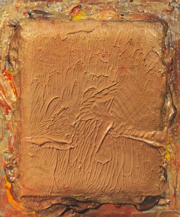 "Turbulence Series - Opening, 26"" x 22"", 2015"