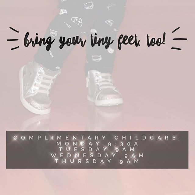 The kids aren't an excuse! We'll see you in the morning! ✨ // #freechildcare #fitmoms #bostonfitness #classpassboston #poisenation #itspersonal