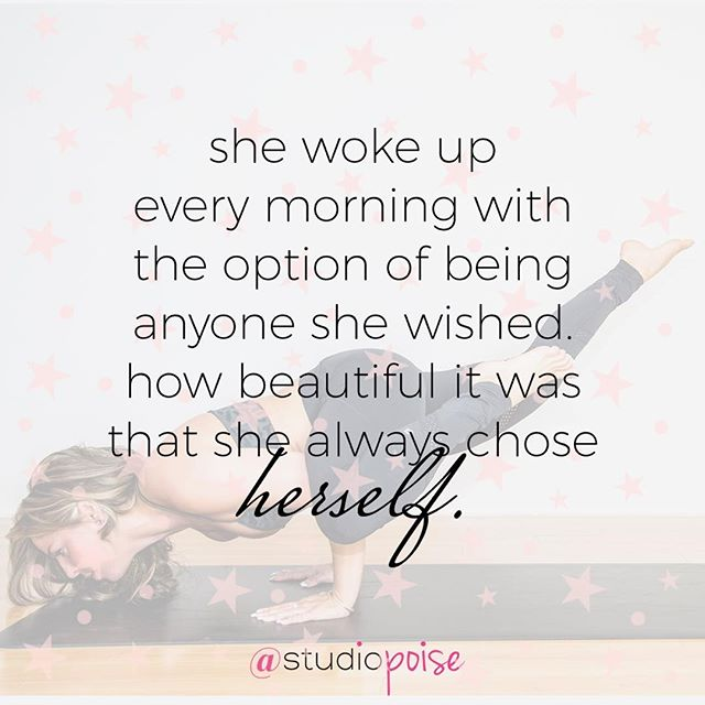 Start the week being nothing other than yourself! 💖 // #nevermissamonday #poisenation @mrslynnjake