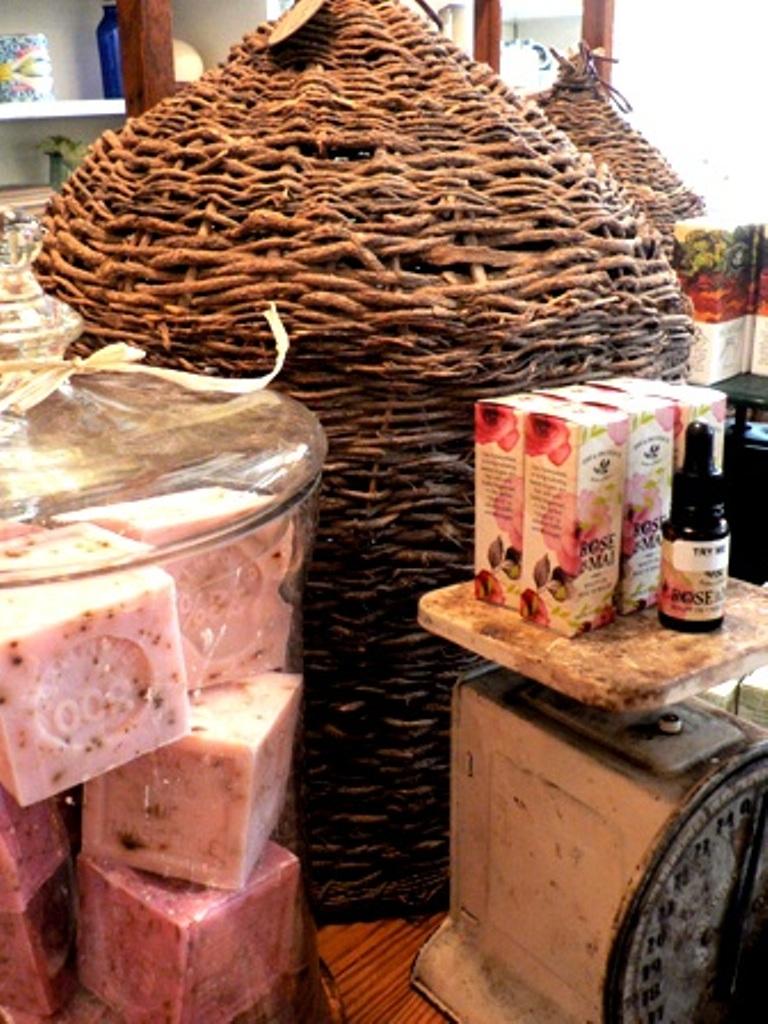 rose soap & rose pre de provence.JPG