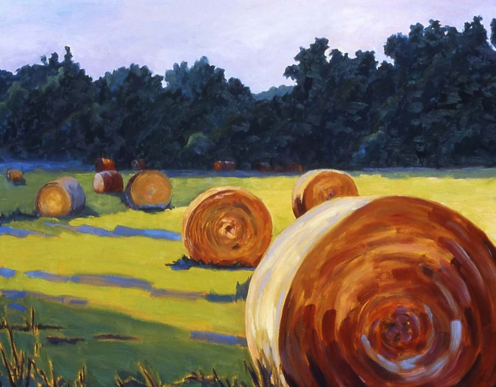 """Haybale Party"" - SOLD"