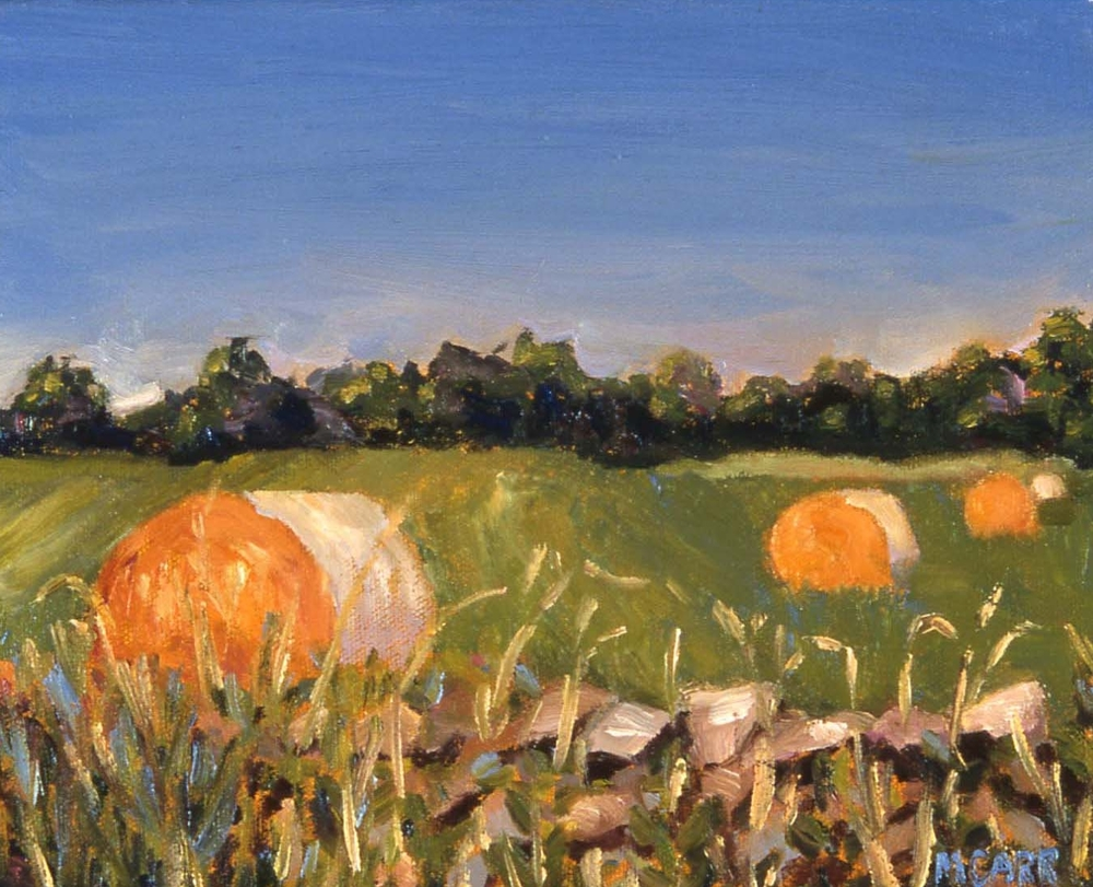 """Haybales"" - SOLD"