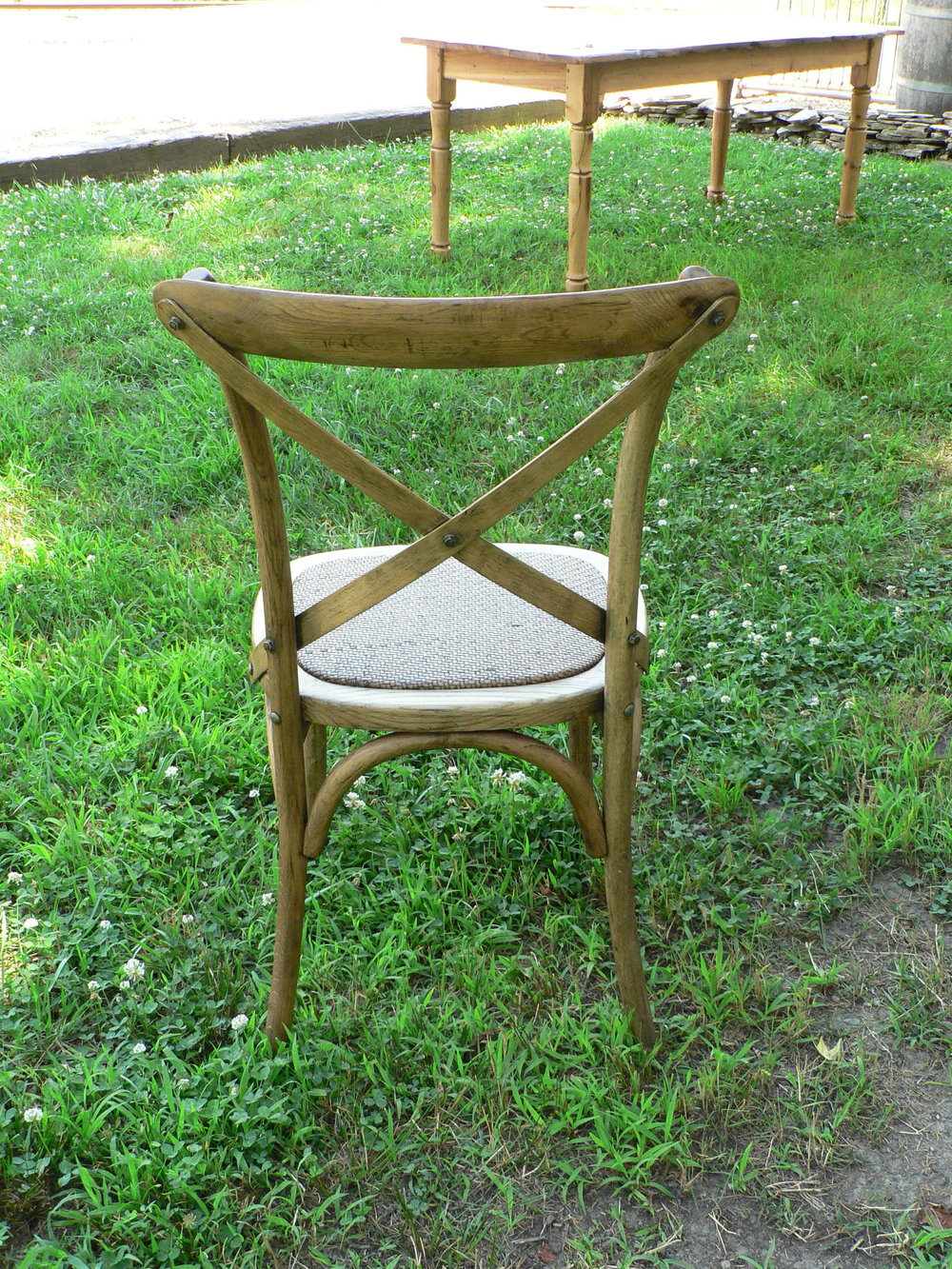 Cross Back Chairs | $160