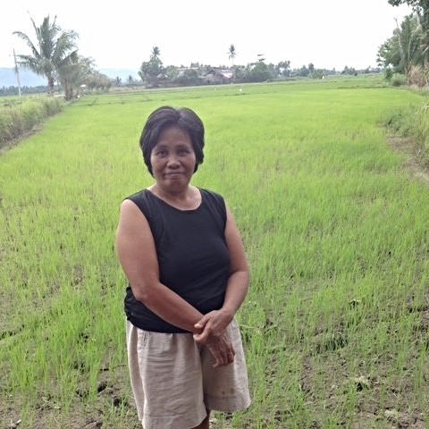 Philippines: A loan of $225 helps Rosemarie to buy fertilizers and other farm supplies.