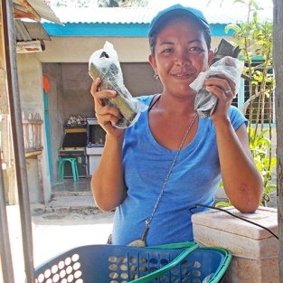 Philippines: A loan of $225 helps Sheena to purchase ingredients for her food vending business such as rice, sugar, and oil.