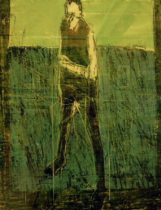 Figure in Green Field (1962)